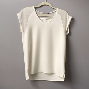Tops - White short sleeve top